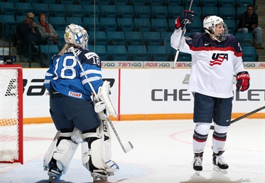 U.S. gets past Finland
