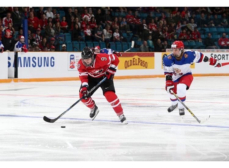Сборная России - Сборная Канады