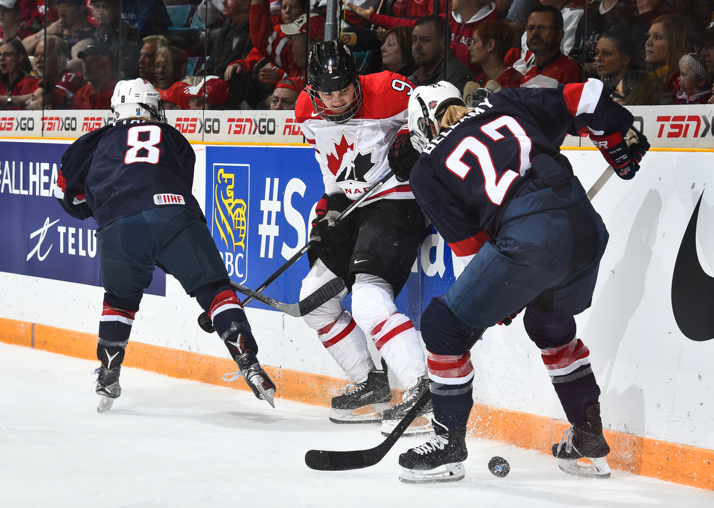 IIHF Official game puck 2016 Turkey Women Division II WM