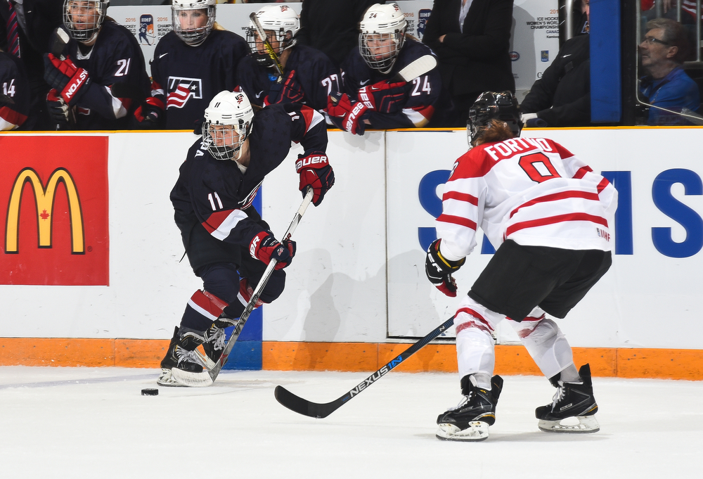 IIHF Official game puck Turkey 2016 Women Division II WM
